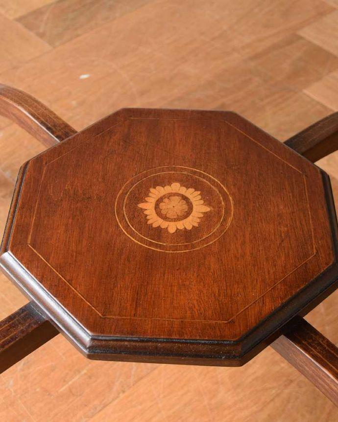 k-1892-f アンティークオケージョナルテーブルの下棚