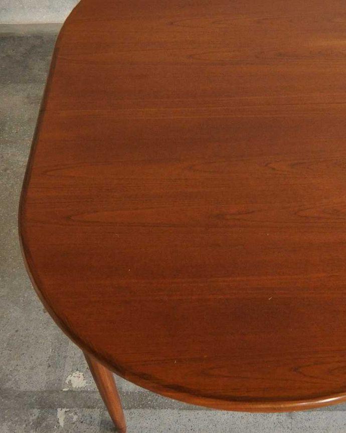 k-1904-f ビンテージダイニングテーブルの天板ズーム