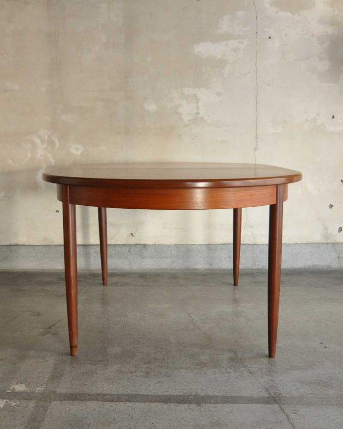 k-1904-f ビンテージダイニングテーブルの後ろ