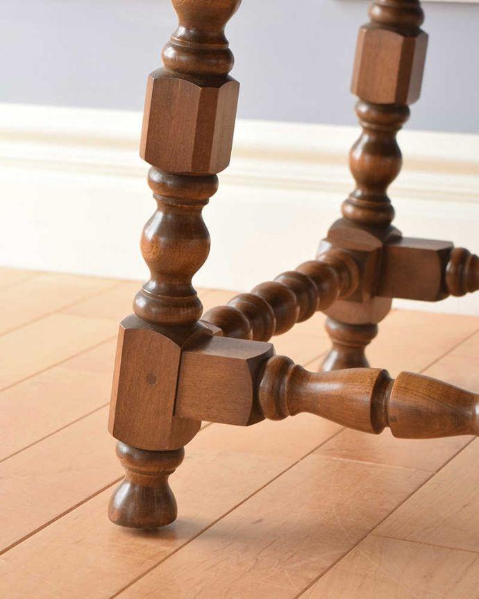 k-1908-f  アンティークゲートレッグテーブルの脚