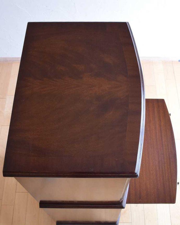 k-1983-f アンティークカップボードチェストの天板
