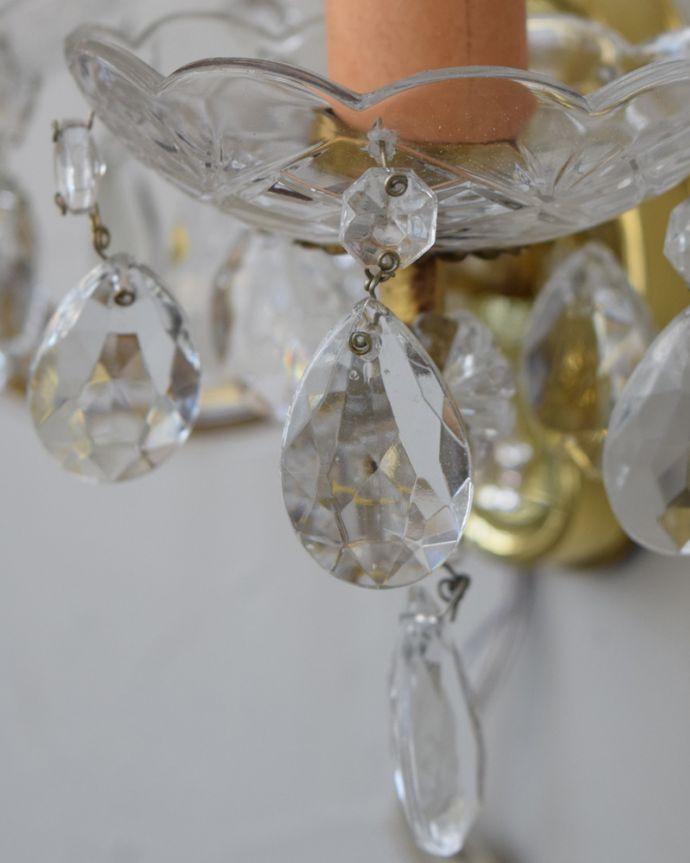 k-2011-z アンティークウォールブラケットの真鍮ピックアップ