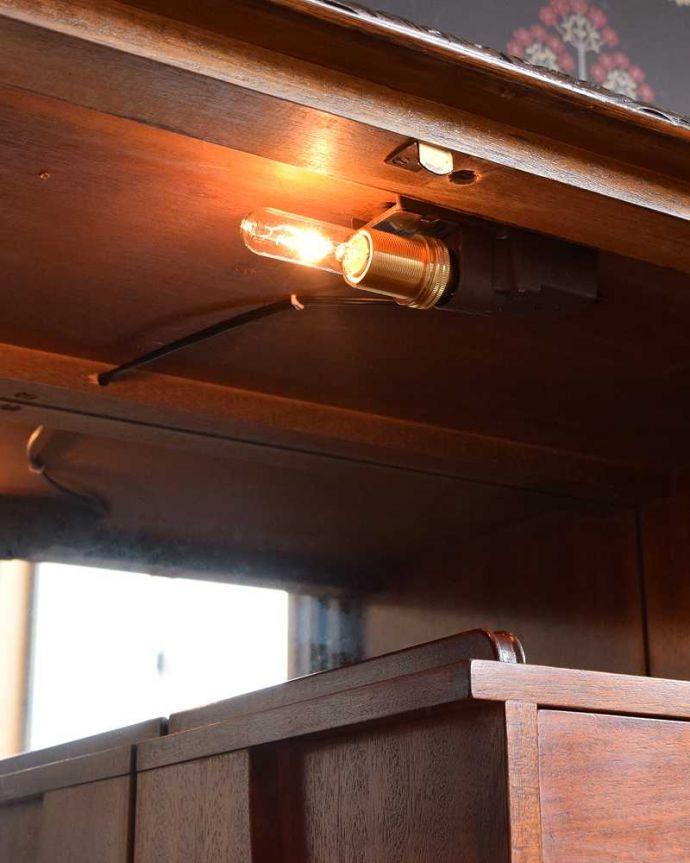 k-2053-f アンティークキャビネットのライト