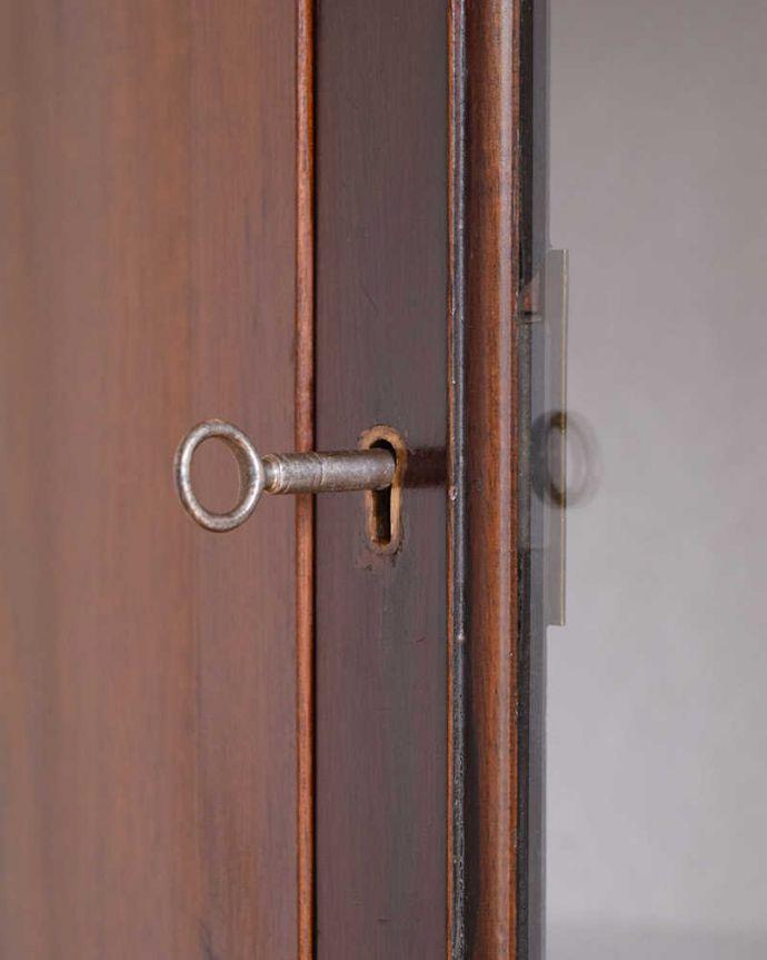 k-2087-f アンティークガラスキャビネットの鍵