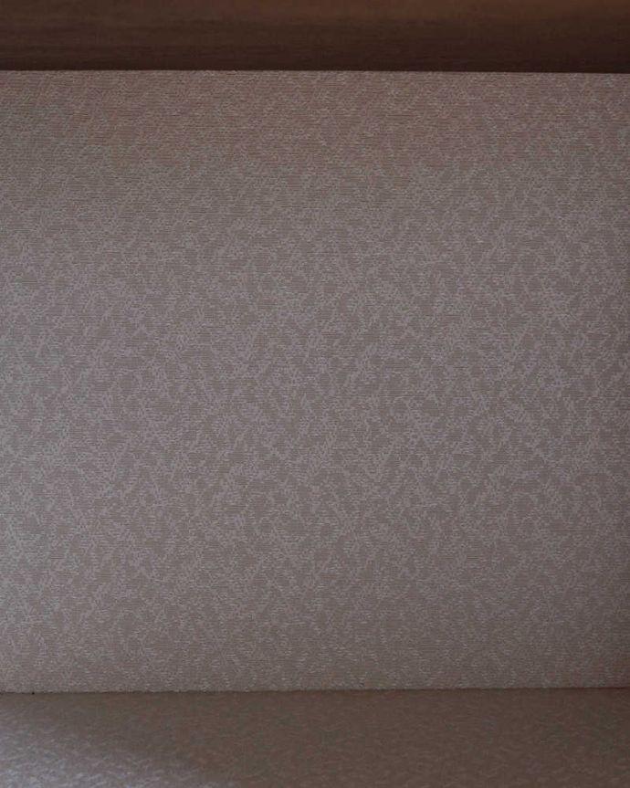 k-2087-f アンティークガラスキャビネットの背板の布