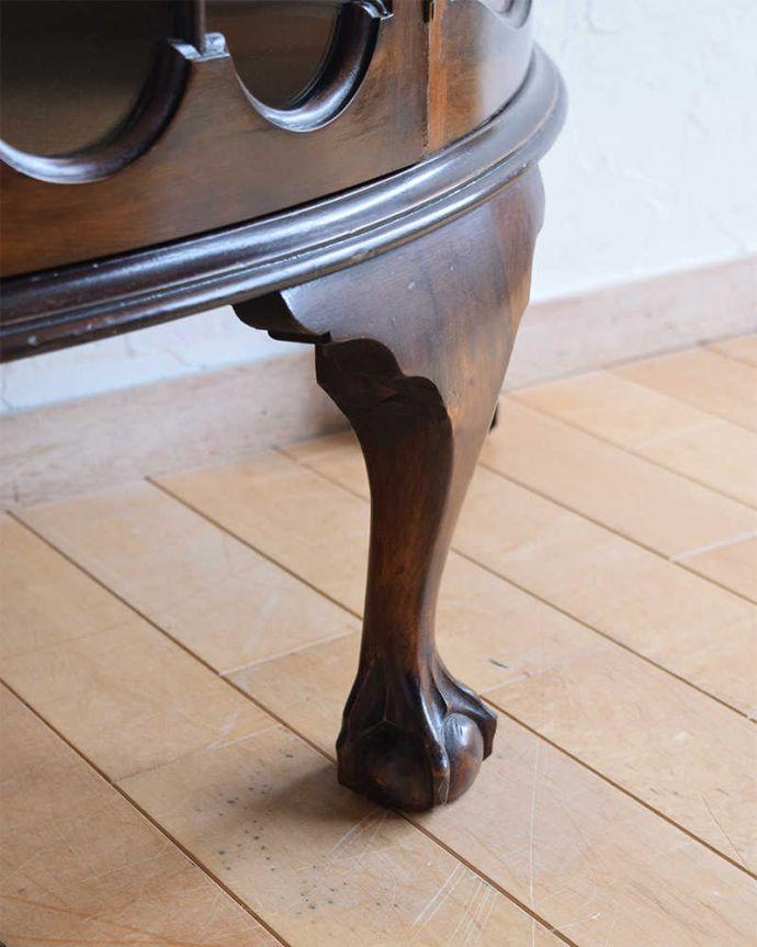 k-2087-f アンティークガラスキャビネットの脚