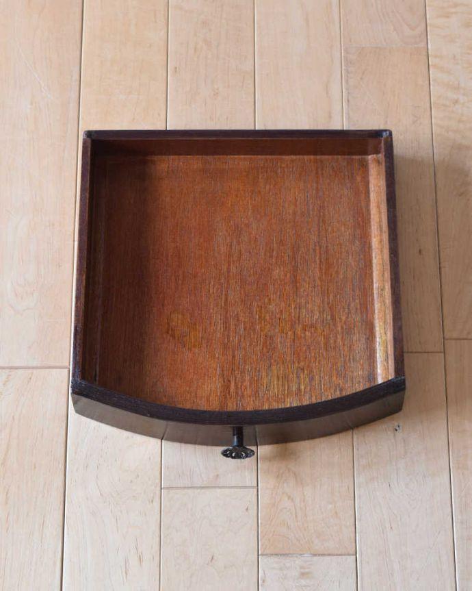k-2109-f アンティークサイドテーブルの引き出し