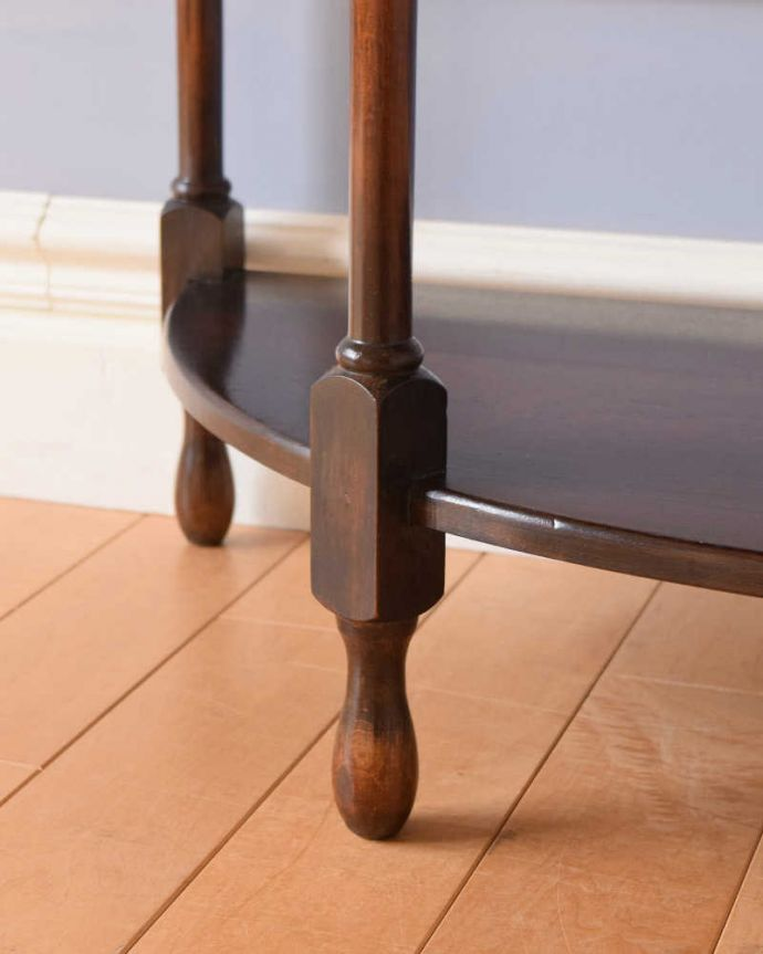 k-2109-f アンティークサイドテーブルの脚