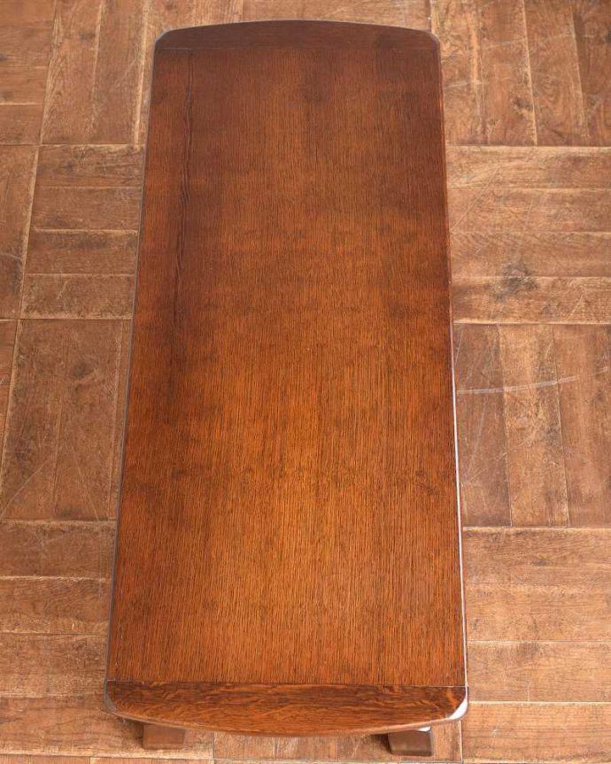 k-2112-f 英国アンティークコーヒーテーブルの天板