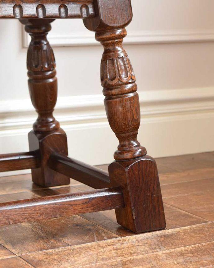 k-2112-f 英国アンティークコーヒーテーブルの脚