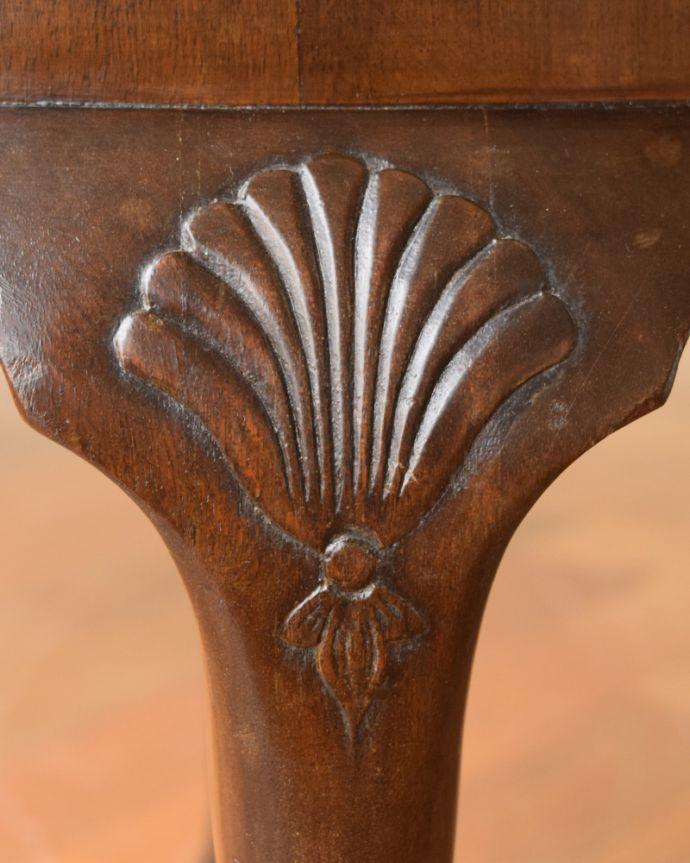 k-2116-f  アンティークコーヒーテーブルの装飾1