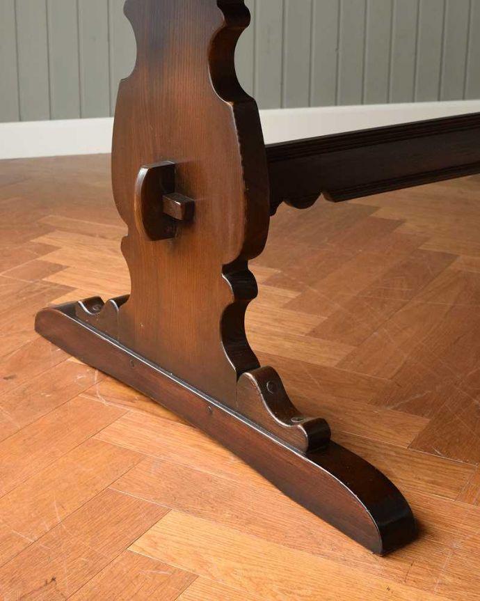 k-2127-f アンティークテーブルの脚