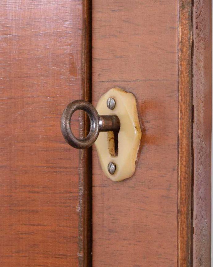 k-2139-f アンティークガラスキャビネットの鍵