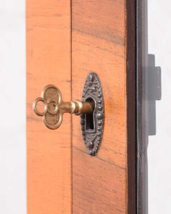 k-2141-f アンティークガラスキャビネットの鍵