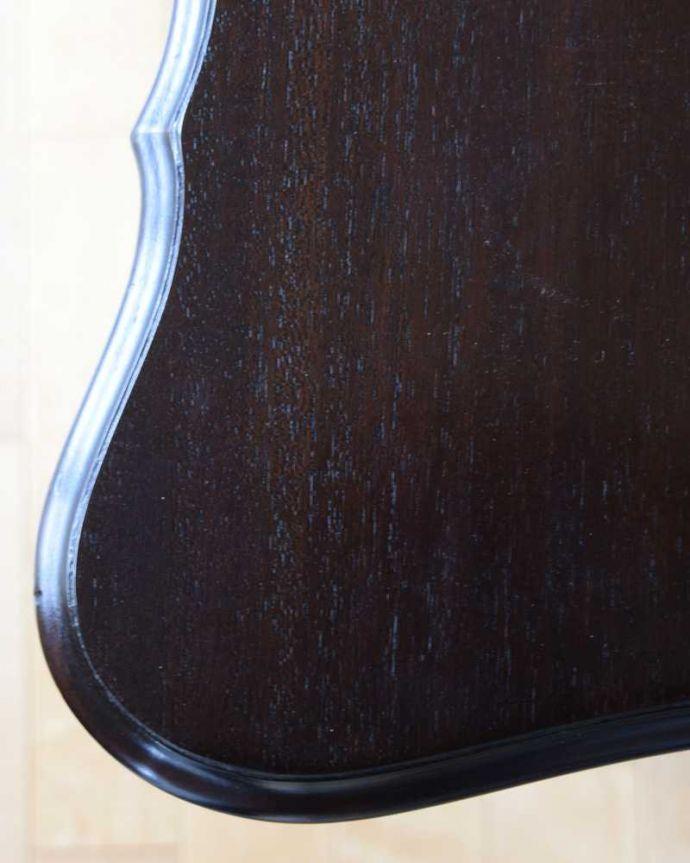 k-2190-f  アンティークオケージョナルテーブルの天板ズーム
