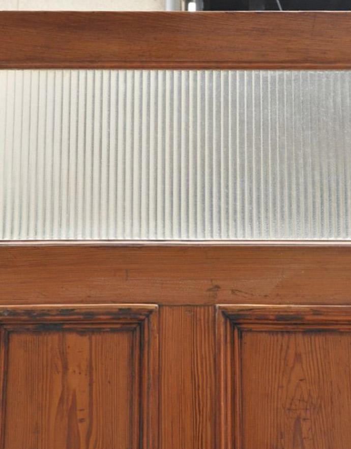 k-223-f-1 アンティークガラス窓入りドアの窓