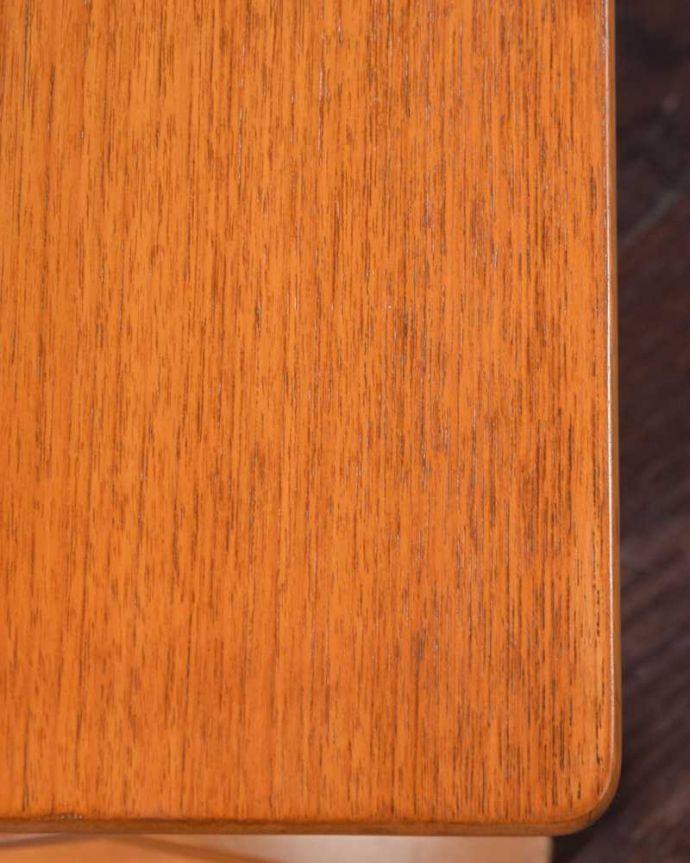 k-2258-f  アンティークネストテーブルの天板ズーム