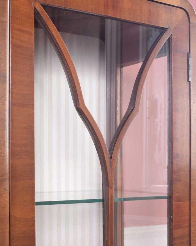 k-2274-f アンティークキャビネットの扉装飾