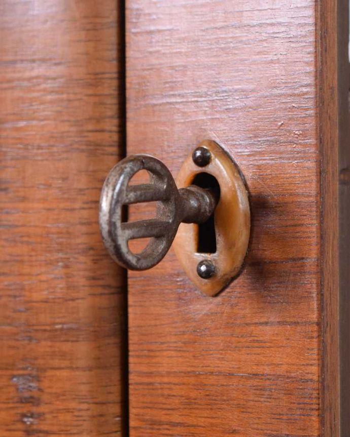 k-2274-f アンティークキャビネットの鍵(取っ手)