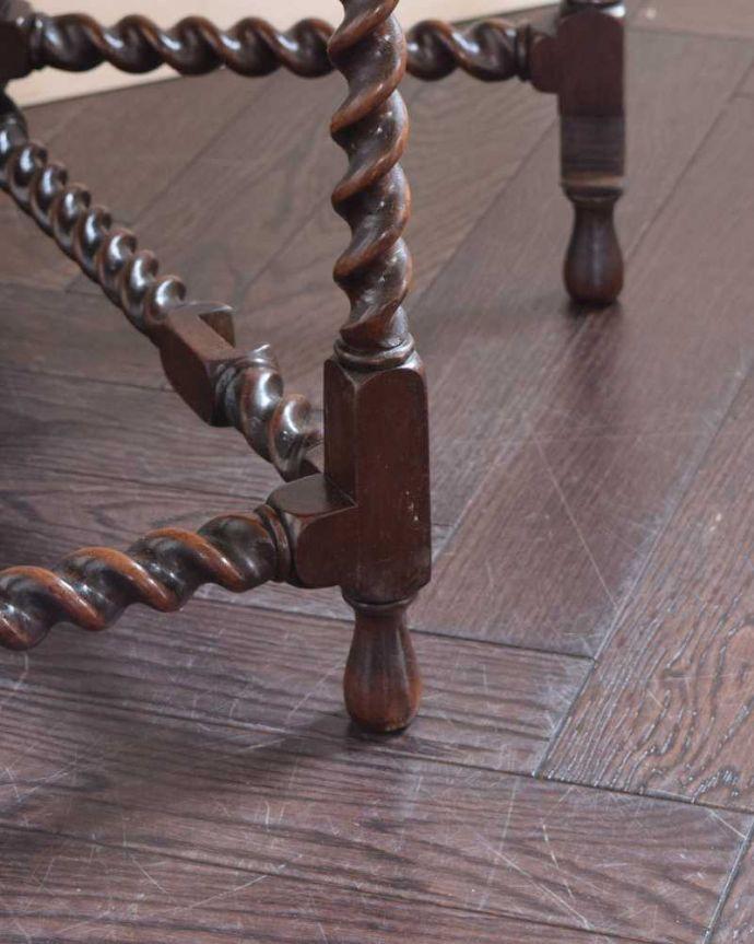 k-2290-f  アンティークゲートレッグテーブルの脚(普通の脚)