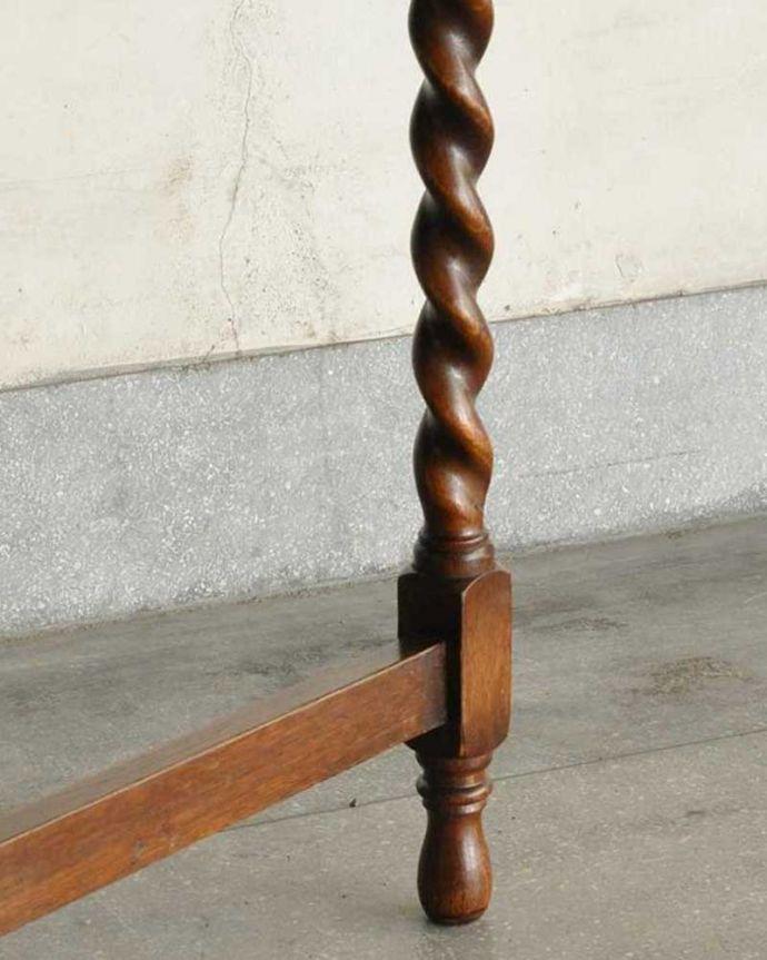 k-2301-f  アンティークゲートレッグテーブルの脚(普通の脚)