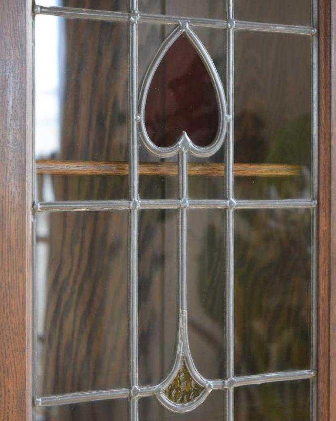 k-2313-f アンティークキャビネットの扉装飾