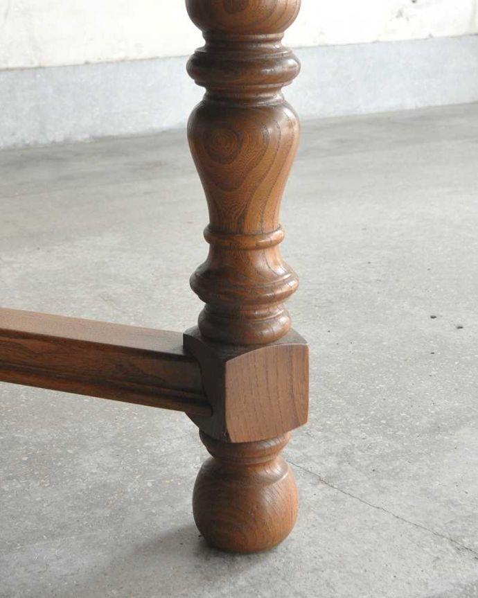 k-2331-f アンティークダイニングテーブルの脚