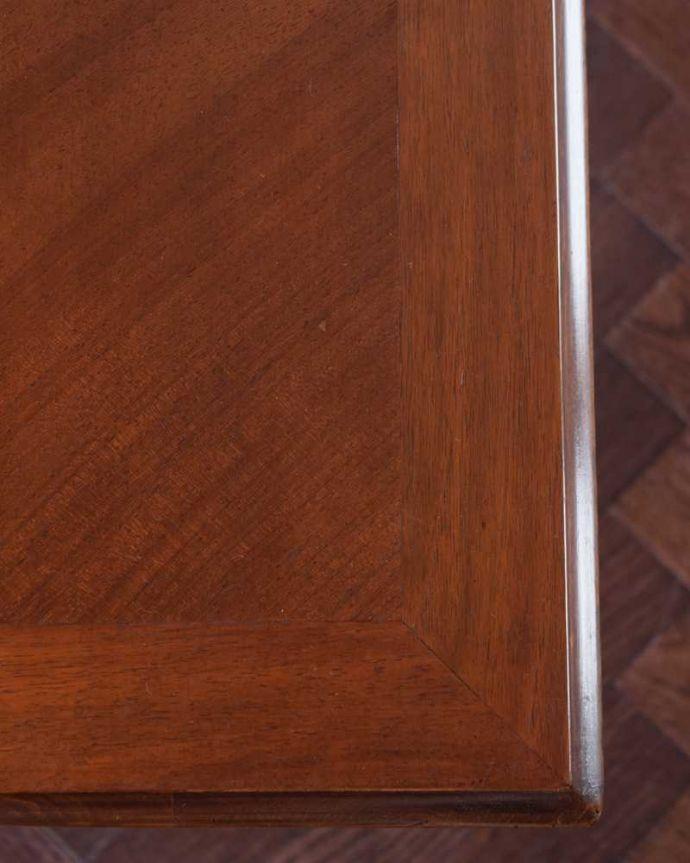 k-2353-f  アンティークオケージョナルテーブルの天板ズーム