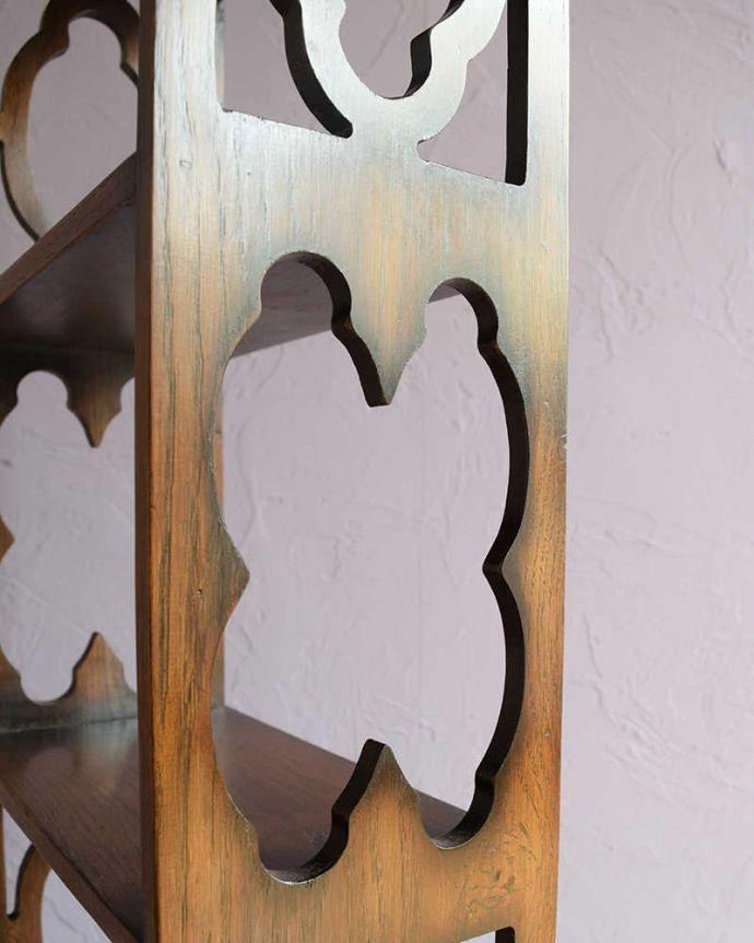 k-2361-f アンティークキャビネットの装飾1