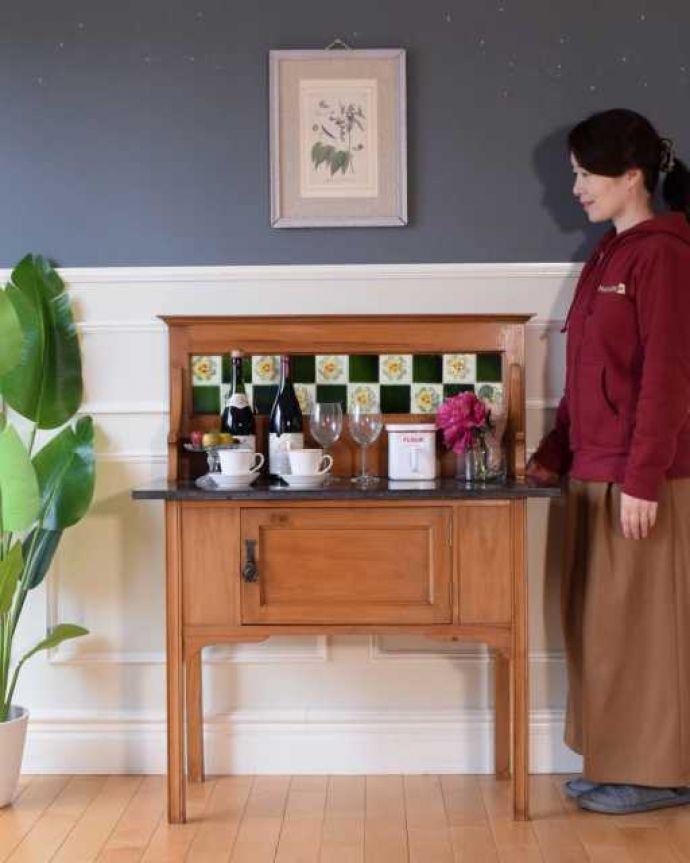 英国のアンティーク家具、ウォッシュスタンド
