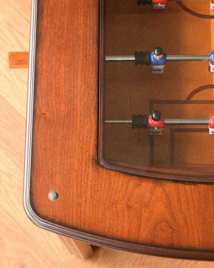 k-2447-f  アンティークコンソールテーブルの天板アップ