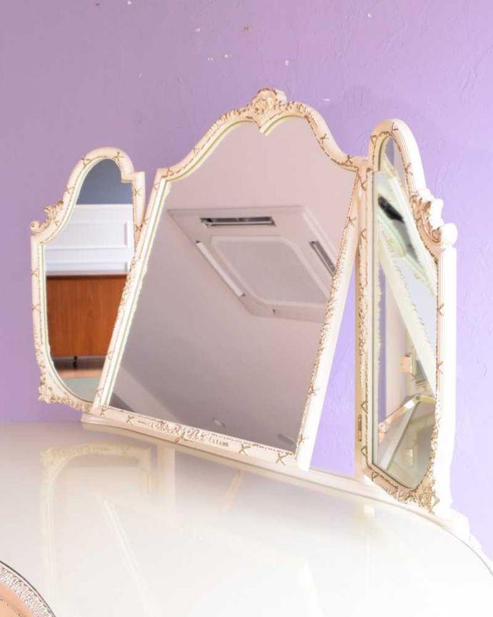 アンティークの鏡