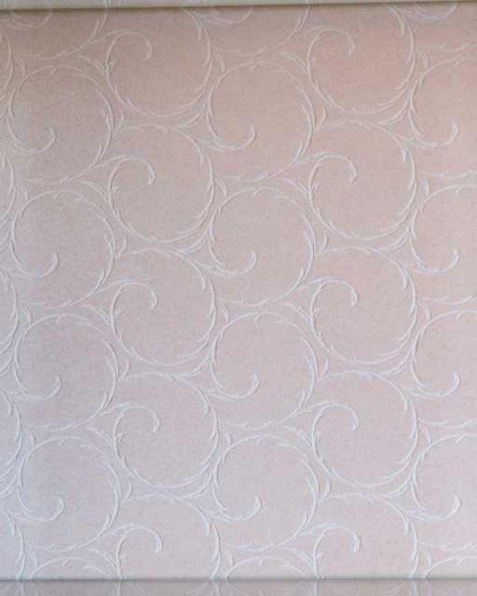 k-2591-f アンティークガラスキャビネットの背板の布