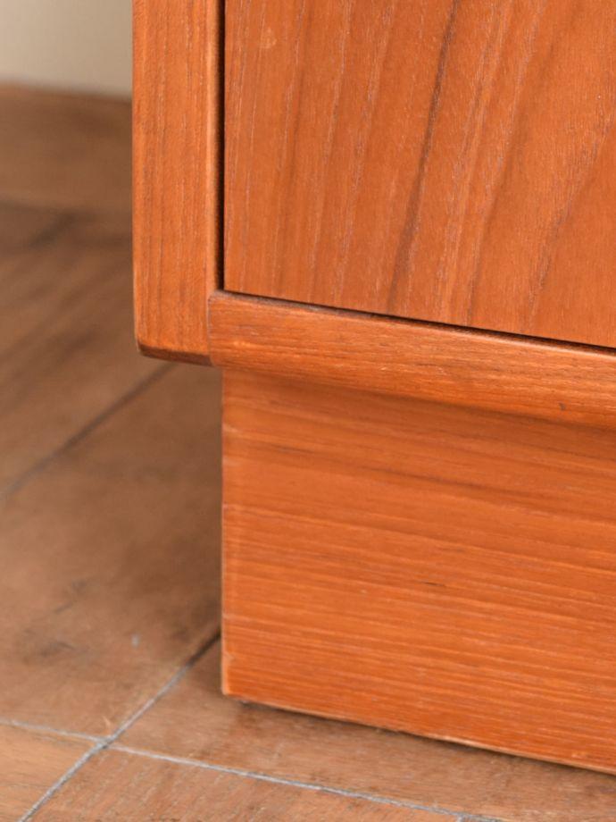 ビューロー アンティーク家具 アンティーク G-planウォールユニット  スッキリとした脚の裏には…Handleの家具の脚裏にはフェルトキーパーをお付けしています。(k-2889-f)