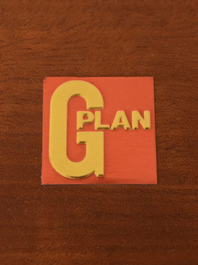 ビューロー アンティーク家具 アンティーク G-planウォールユニット  安心の証1975年から使われているメタリックラベルが残っていました。(k-2889-f)