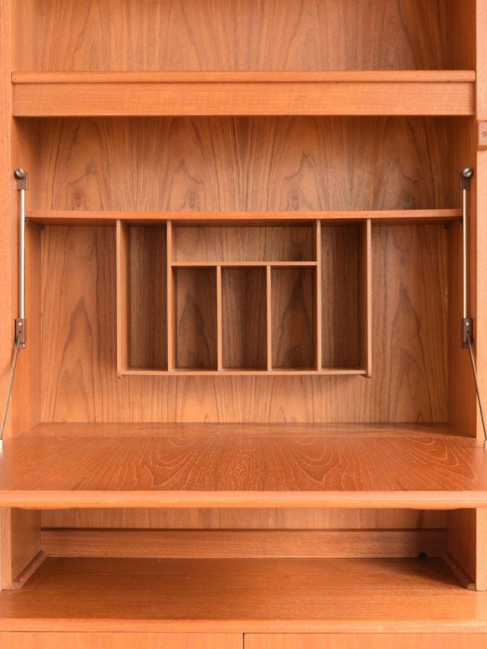 ビューロー アンティーク家具 アンティーク G-planウォールユニット ビューロー内部 (k-2889-f)