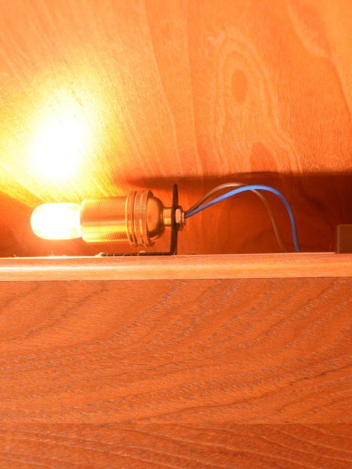 ビューロー アンティーク家具 アンティーク G-planウォールユニット 電球 (k-2889-f)