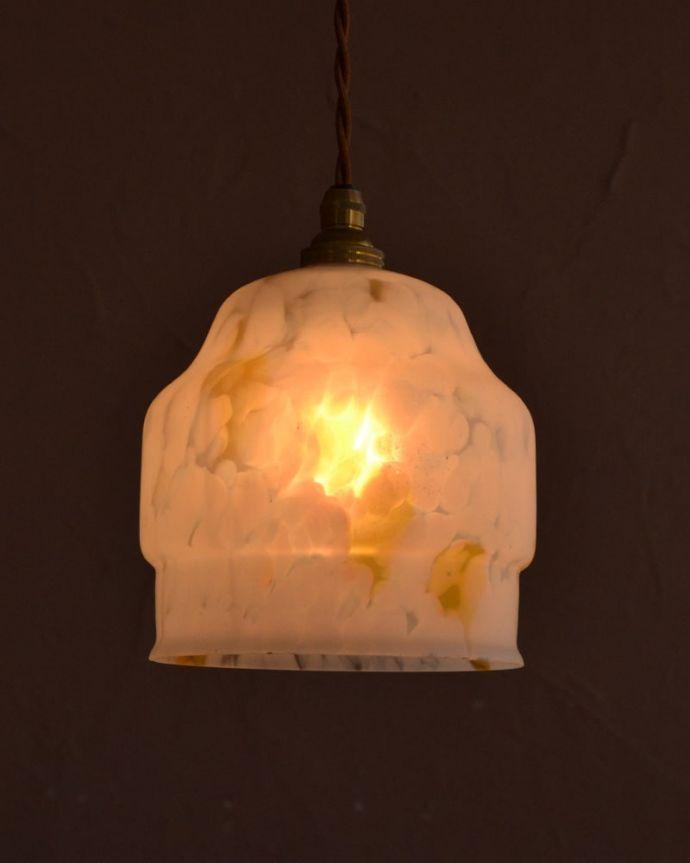 照明・ライティング アンティーク シェード 。(k-4189-z)