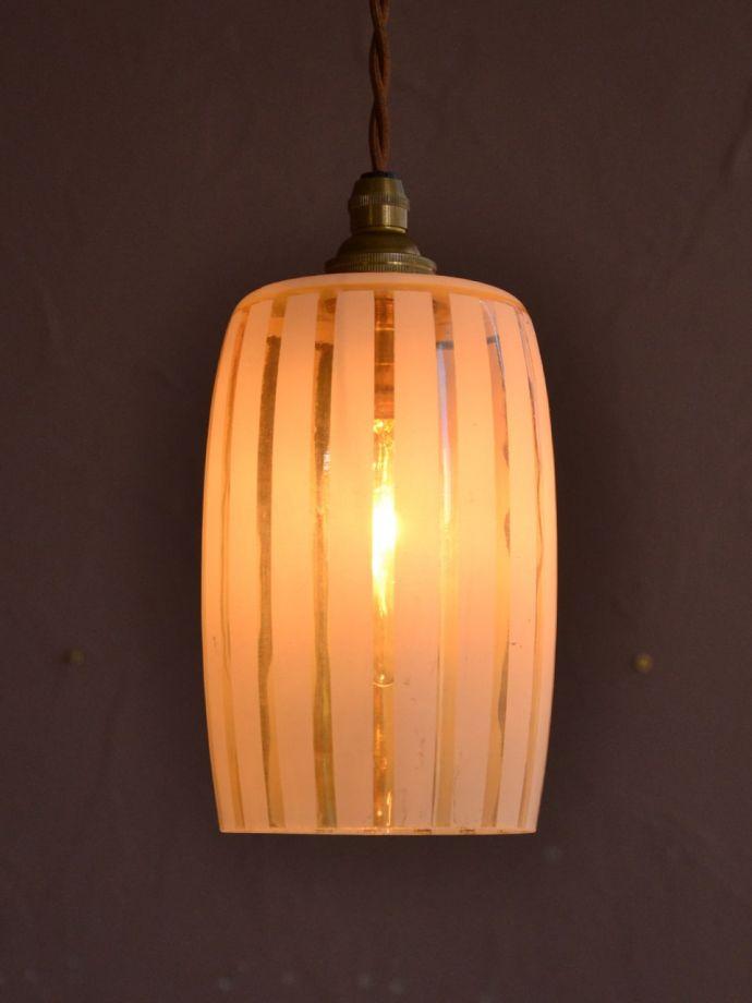 アンティークの照明、ペンダントライト