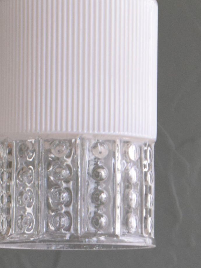 アンティークガラスのシェード