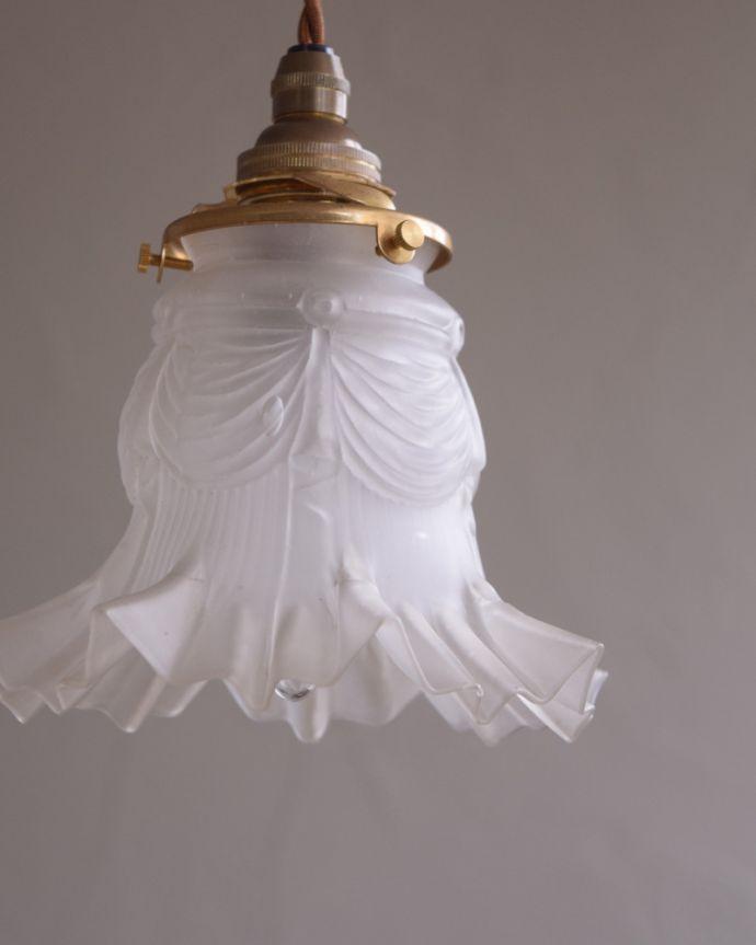 m-1748-z アンティークペンダントライト(照明)の消灯時アップ