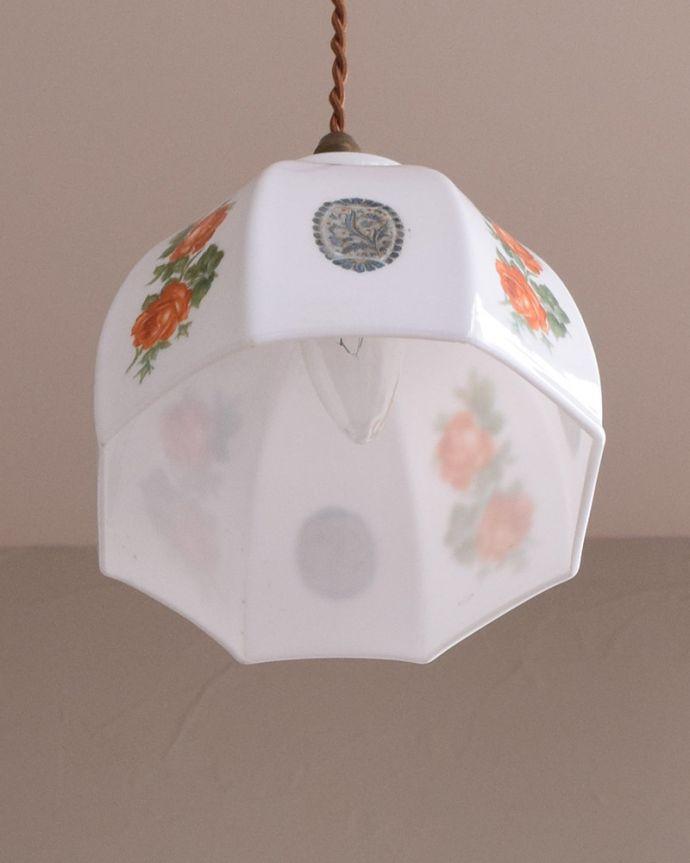 m-1797-z アンティークペンダントランプ(照明)の下から消灯