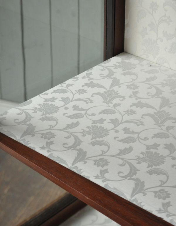 m-388-f アンティークガラスキャビネットの棚板