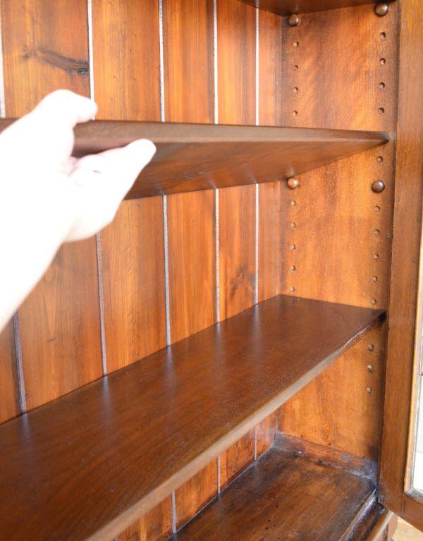 m-424-f アンティークブックケースの棚板