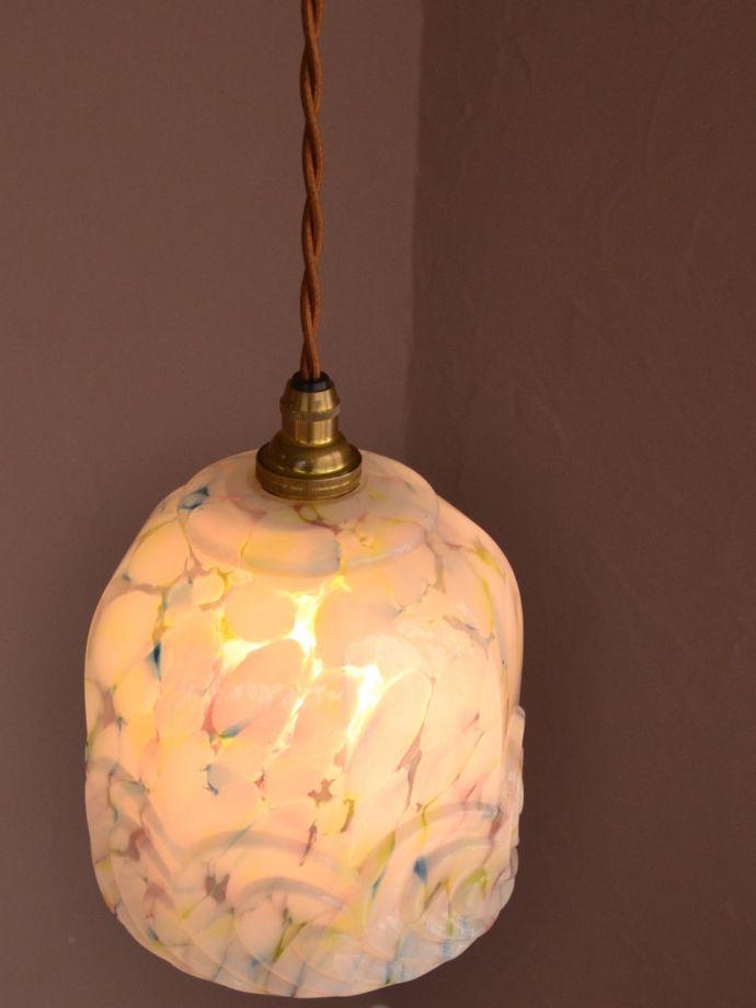 LED電球対応のアンティーク照明