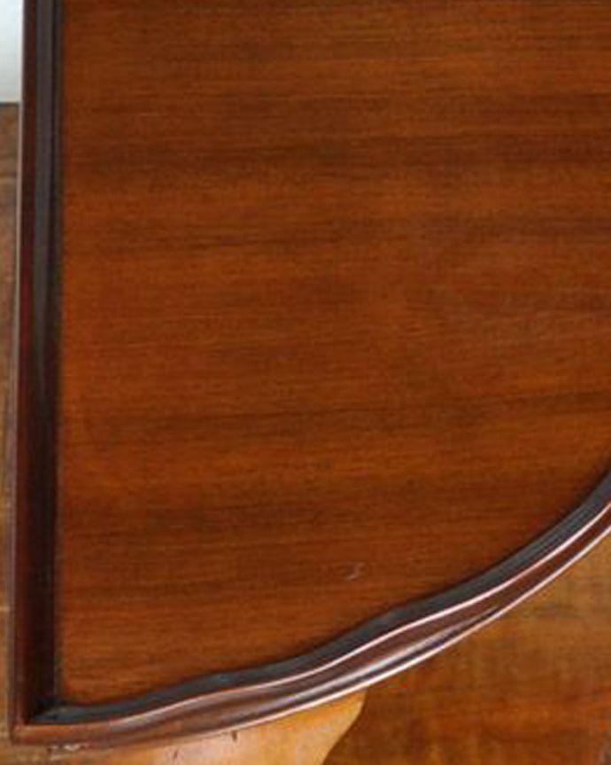 m-508-f アンティークオケージョナルテーブルの角