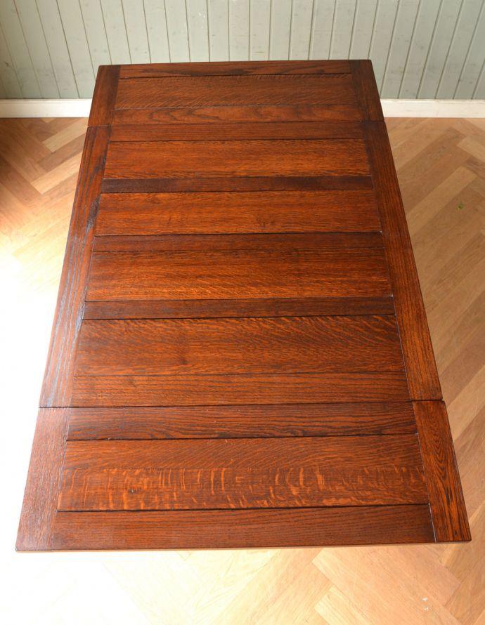 m-542-f アンティークドローリーフテーブルの天板