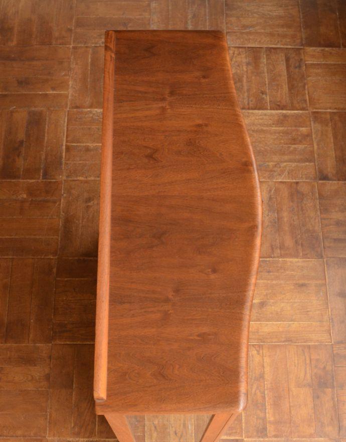m-555-f アンティークガラスキャビネットの天板