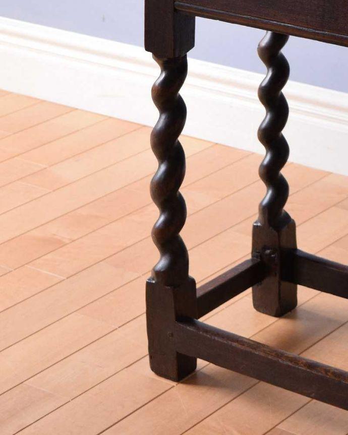 m-596-f  アンティークオケージョナルテーブルの脚