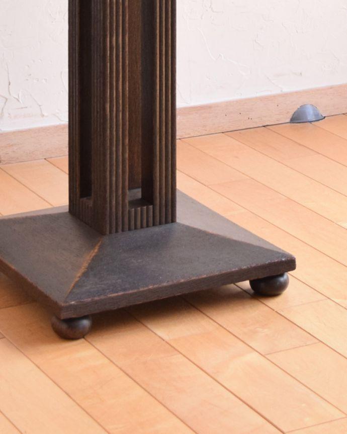 m-597-f  アンティークオケージョナルテーブルの脚